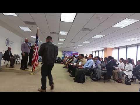 American citizenship oath ceremony  April 20,2018