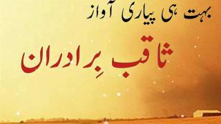 Download Video Saqib Bradran Bhut  Hi Pyari Awaaz mein  Nazam On Sahaba (RA) MP3 3GP MP4
