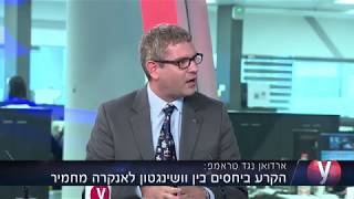 Dr. Hay Eytan Cohen Yanarocak on Turkish Lira's devaluation 12.8.18 Ynet News