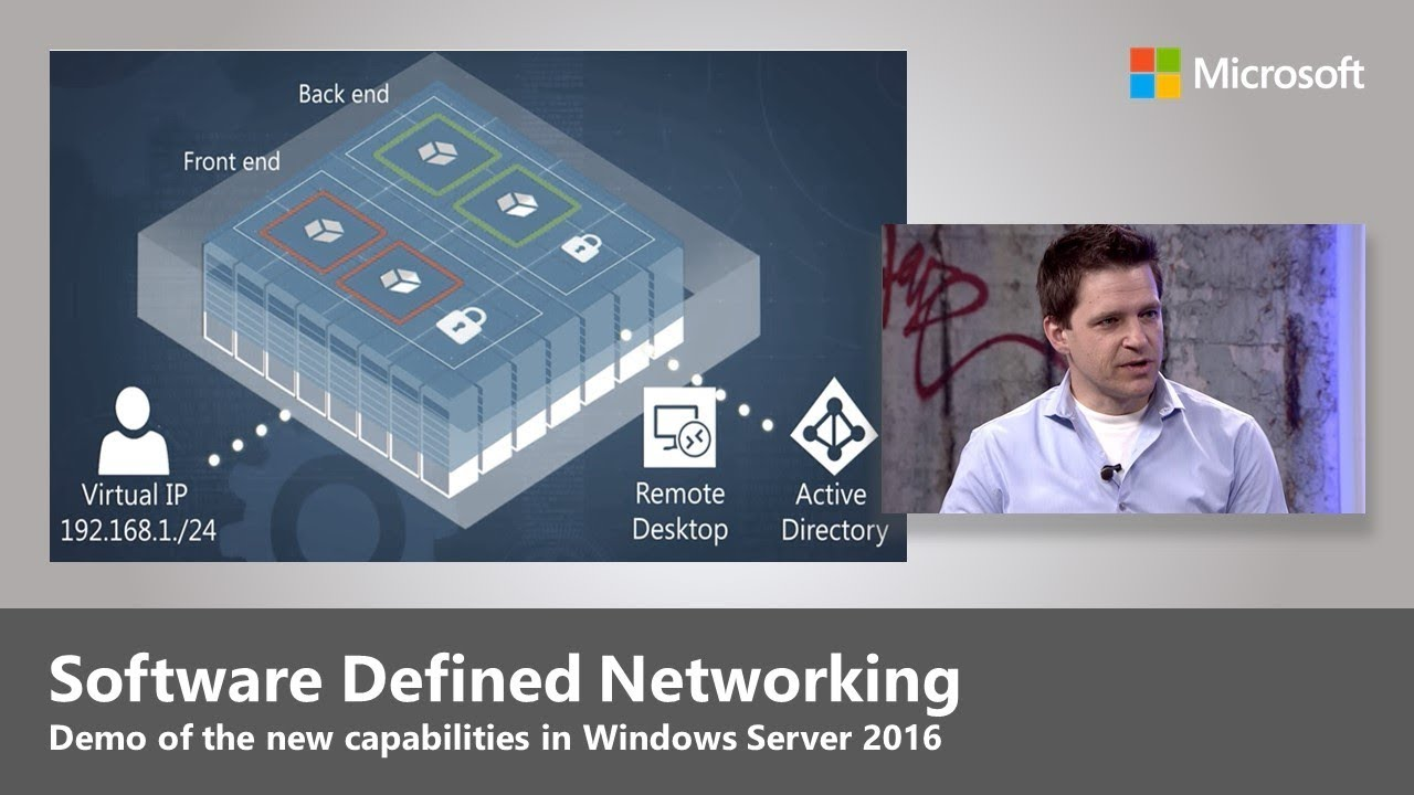 An Introduction to Software Defined Networking with Windows Server 2016