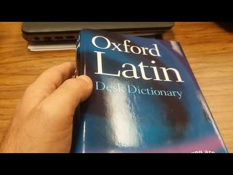 Oxford Latin Desk Dictionary Review