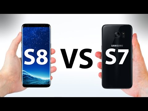 Samsung Galaxy S8 VS S7 - ULTIMATE In-Depth Comparison!