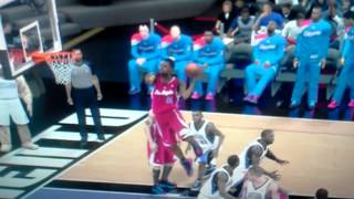 Nba 2k13 off the glass alley oop