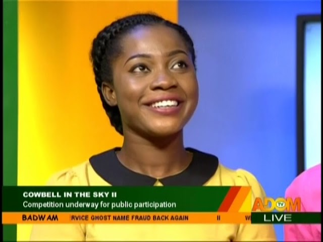 Cowbell In The Sky II - Badwam on Adom TV (19-10-18)