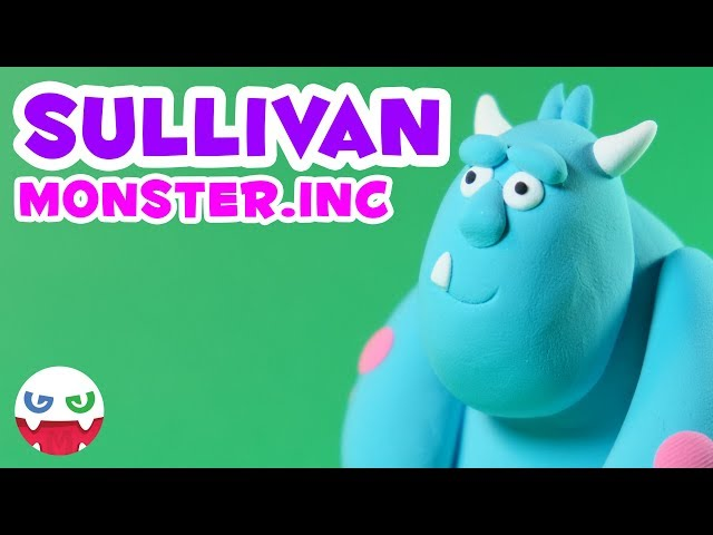 How to Make a Sullivan with Clay [Monster.inc]