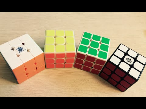What Color Cube is best for Speed Solving?