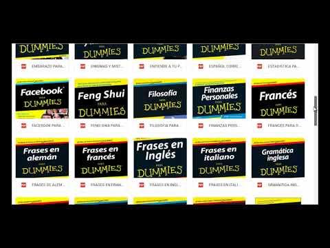 Pack De Libros Para Dummies Youtube