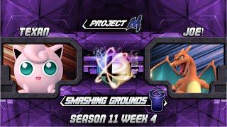 SG at GU 11.4: Texan (Jigglypuff) vs Joe! (Charizard)