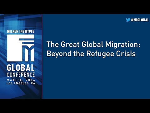 The Great Global Migration: Beyond the Refugee Crisis