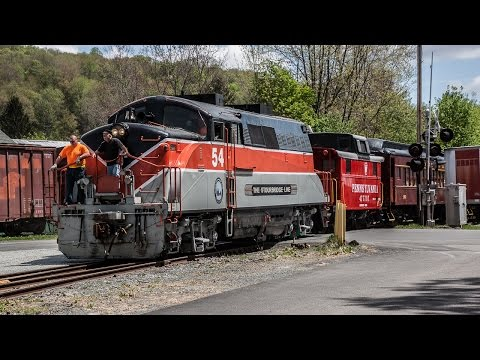 HD: Opening Day Chase of the Stourbridge Line - Wayne County, PA 05-09-15