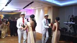 Charith's & Dilhara's Wedding - Surprise Wedding Dance from Bridemaids & Bestmen