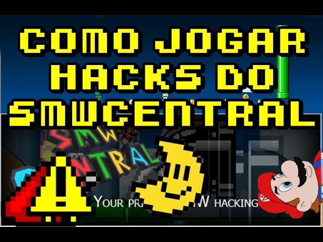 Como jogar hacks do SMW Central (.ips/.bps)