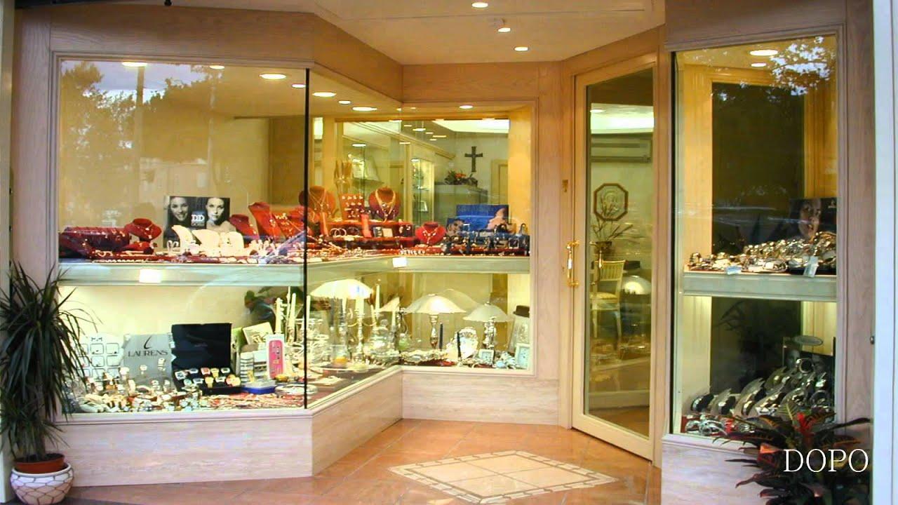 Arredamento gioielleria orologeria ekip arredamenti per for Arredamento per gioielleria