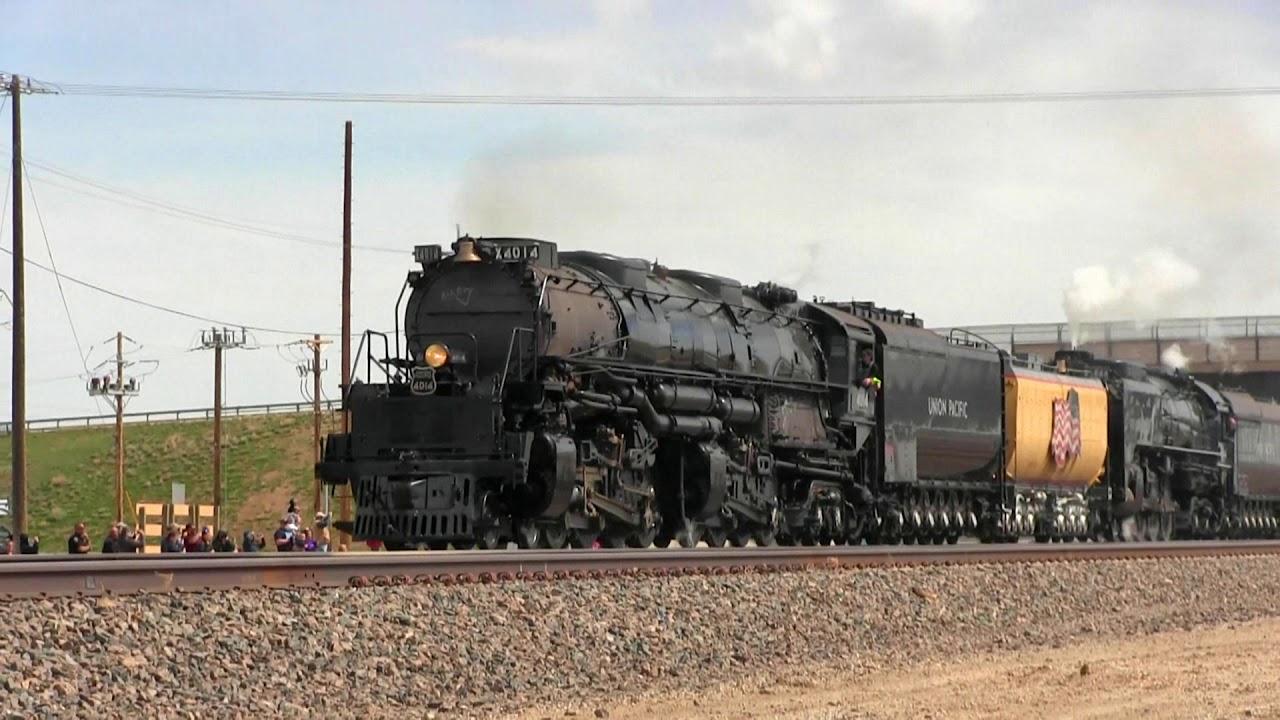 massive big boy locomotive