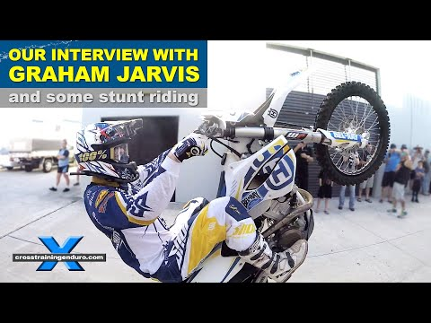 GRAHAM JARVIS: RIDE DEMO & INTERVIEW