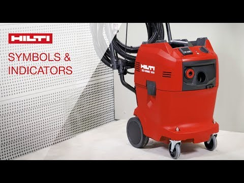 LEARN More About The Symbols And Indicators Of The Hilti DD WMS 100 Water Management System