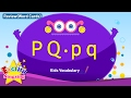 Kids vocabulary compilation - Words starting with P p, Q q - Word cards - review