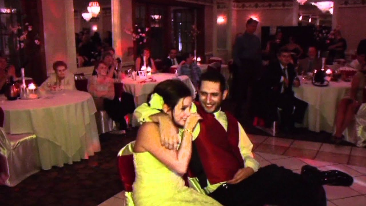 Surprise Group Song For Bride And Groom At Wedding Reception