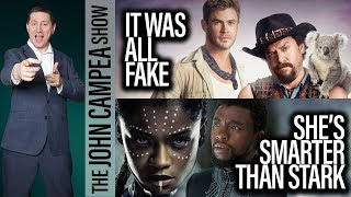 Black Panther's 16 Year Old Sister Is Smartest Person In The World - The John Campea Show