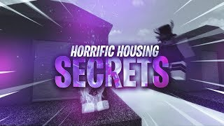 Horrific Housing secrets | Roblox