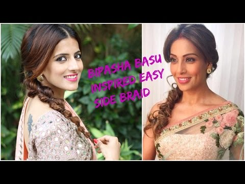 Easy Wedding Guest Hairstyle In Sarees Hairstyles For Medium Long Hair Hair Style Girl Wedding Julie Blog