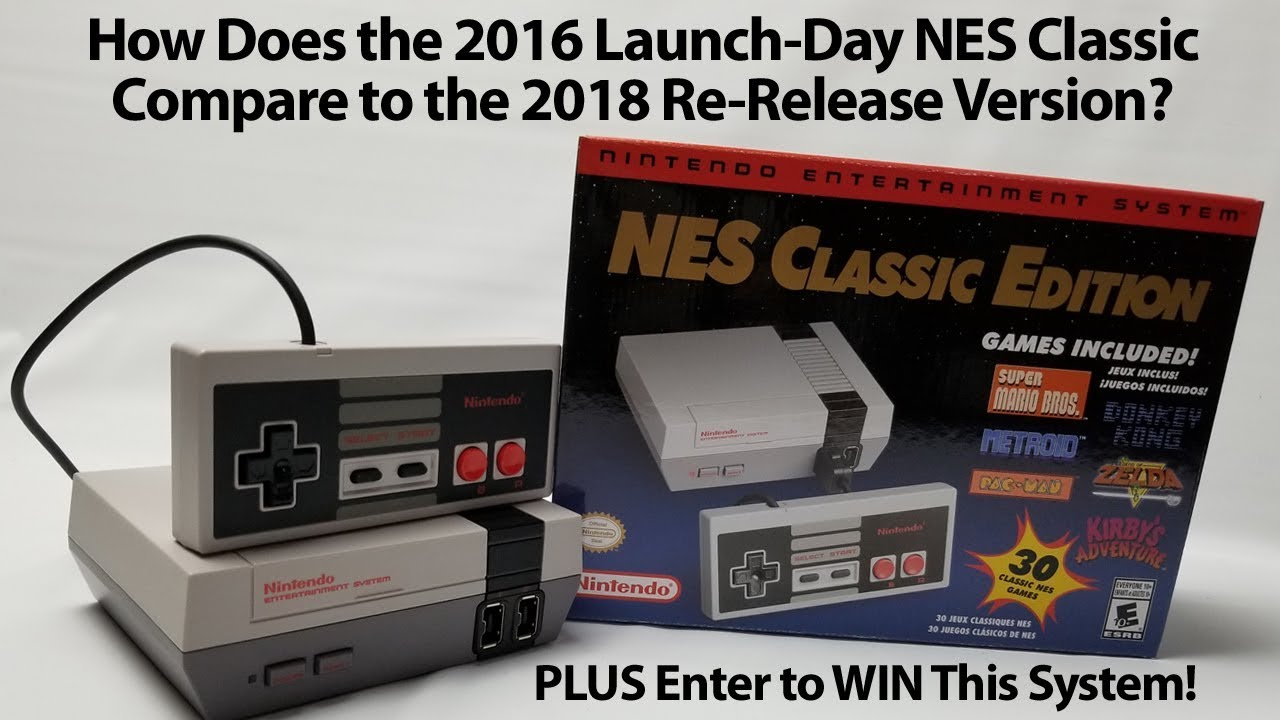 Should Collectors Beware Is The Launch Edition Nes Classic