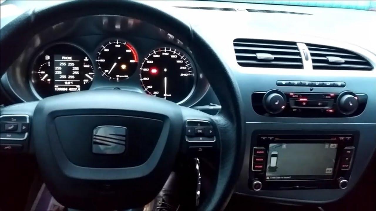 seat leon 1p mirror tilt in reverse gear youtube rh youtube com Seat Leon Interior Seat Leon Interior