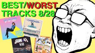 BEST & WORST TRACKS: 8 / 28 (Carly Rae Jepsen, Sum 41, Thundercat)