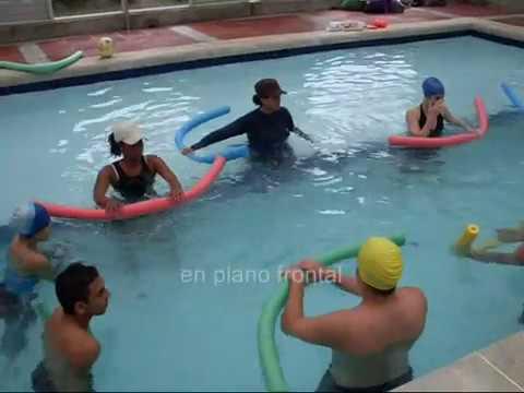 Hidroterapia ejercicios en piscina para miembro superior for Ejercicios en la piscina