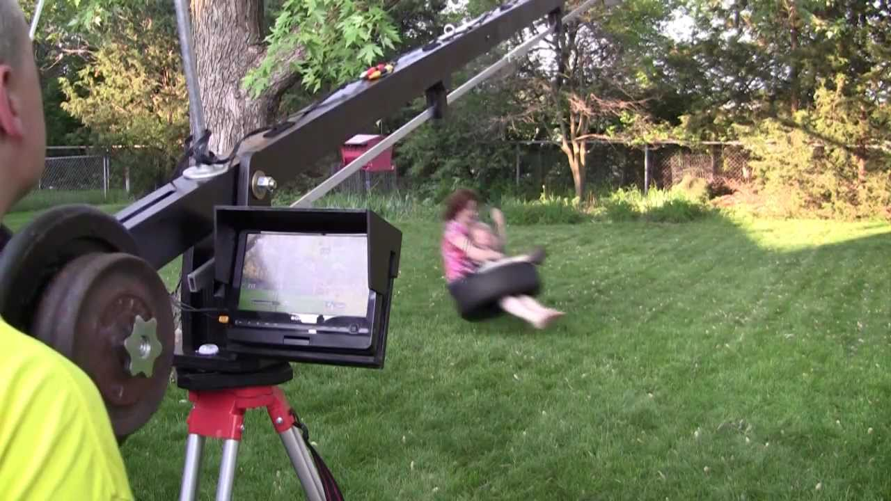 My Diy Camera Crane Mp4 Youtube