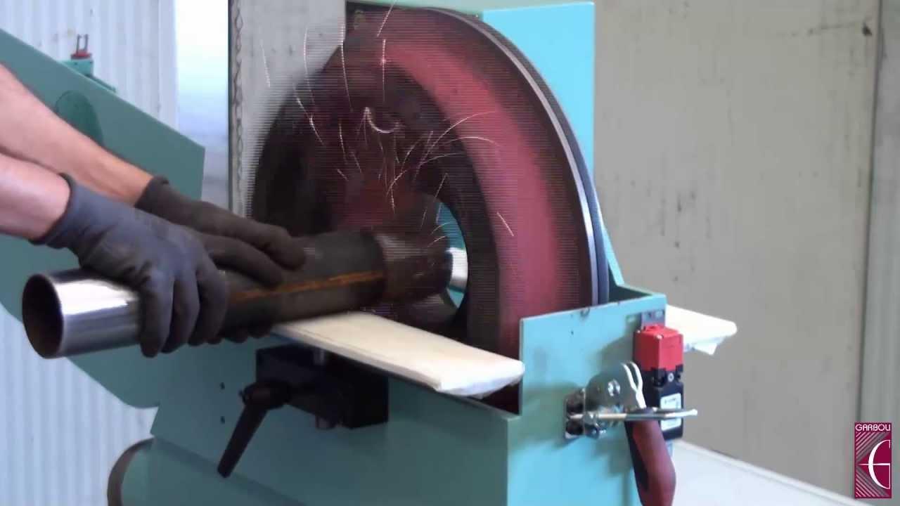 Black steel pipe grinding youtube