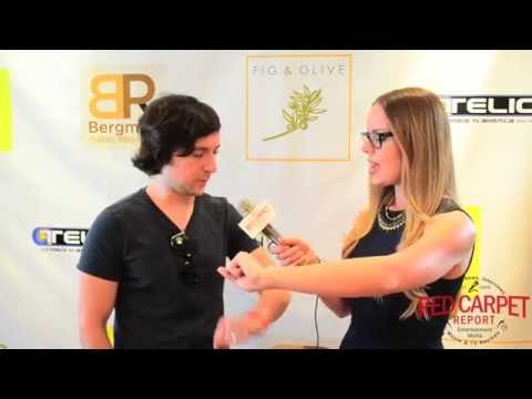 Josh Brener SiliconValley at Doris Bergman's 7th Annual Oscar Style Lounge BergmanOscars HBO