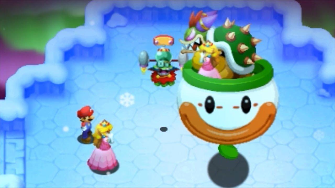 Mario Luigi Superstar Saga Bowser S Minions Walkthrough Part 13 Joke S End