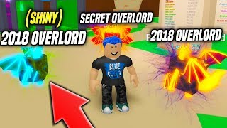 THESE Are The 3 BEST PETS in BUBBLE GUM SIMULATOR!! *SHINY 2018 OVERLORD* (Roblox)