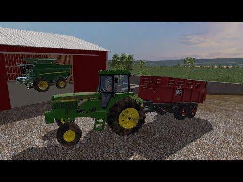 Choppin Corn and doin' other work on No Creek Farms! Farming Simulator 2017!  #TeamScrunt