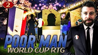 WE PACK A GOAT PRIME ICON!!! SO MANY PACKS!!! - POOR MAN WORLD CUP RTG #2 - FIFA 18