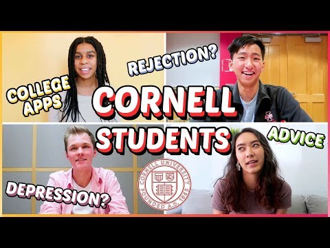 🔥Cornell students answer your BURNING questions: college rej