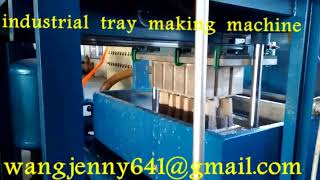 waste paper pulp forming industrial tray forming machinery 0086-5153504975