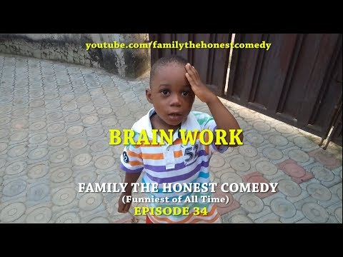 BRAIN WORK  (Emmanuella Mark Angel Comedy Like) (Family The Honest Comedy)