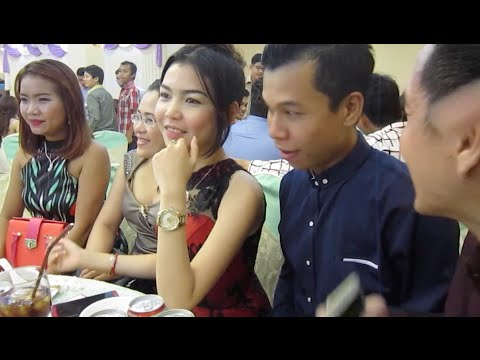 Cambodian wedding celebration and party