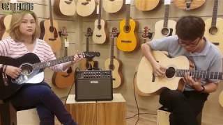 Loa Boss ACS Live - P6- 2 Guitar chung 1 loa?