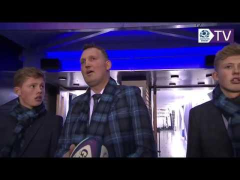 Doddie Weir | Match Ball Delivery
