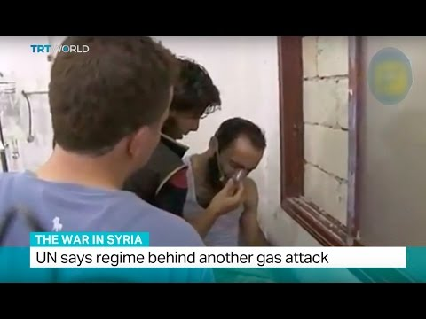 The War In Syria: UN says regime behind another gas attack