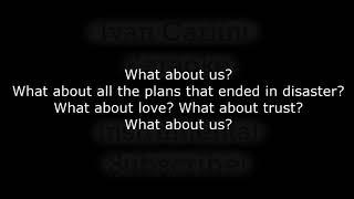 What About Us - PINK (Karaoke) - Instrumental