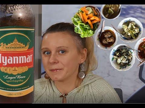 Vlog #4 Jedzenie w Birmie