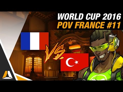 FRANCE vs TURQUIE #2 ► HANAMURA (POV SUPPORT) - OVERWATCH WORLD CUP 2016