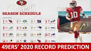 49ers 2020 Record & Schedule Predictions For Every Game On San Francisco's 16-game Schedule