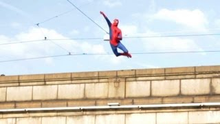 Repeat youtube video Amazing Spiderman 2 (Epic Prank)