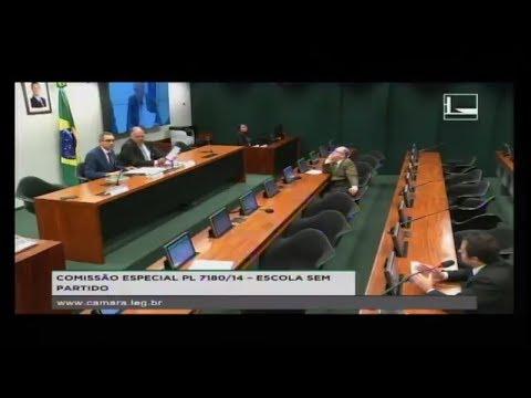 PL 7180/14 - ESCOLA SEM PARTIDO - Reunião Deliberativa - 14/03/2018 - 16:37