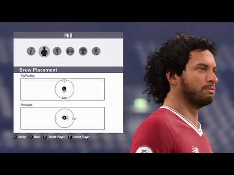 FIFA18 Pro Clubs Game Face Mohamed Salah Look Alike